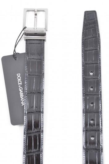 Dolce & Gabbana Cinturón Logo Hombre - BC3627 B205Z