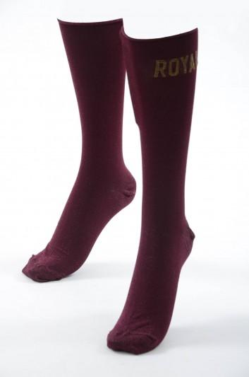 Dolce & Gabbana Women Royal Socks - FX069Z JAMMA