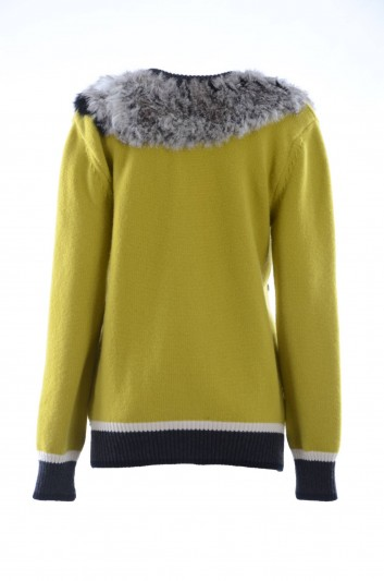 Dolce & Gabbana Women Crewneck Pullover - FR021K F89DF