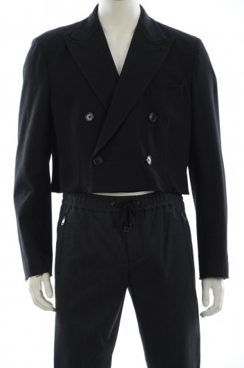 Dolce & Gabbana Men Double Breasted Coat - G0886T FUFG2