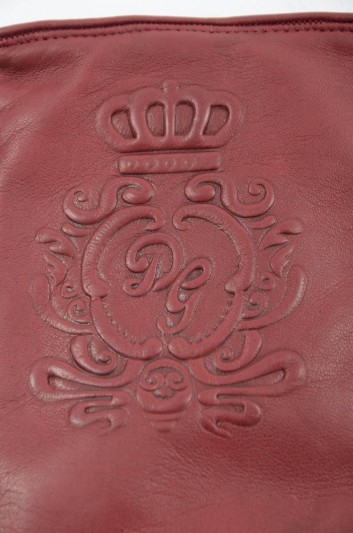 Dolce & Gabbana Guantes Cortos de Piel Hombre - BG0124 AV621