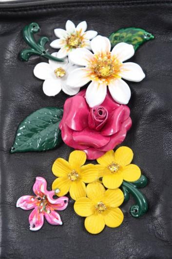 Dolce & Gabbana Guantes Cortos de Piel Mujer - BF0141 AJ428