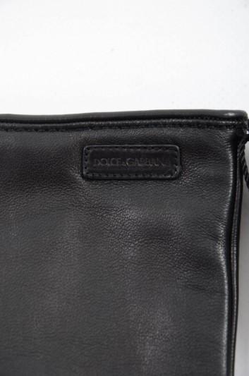 Dolce & Gabbana Guantes Cortos de Piel Hombre - BG0123 A6P10