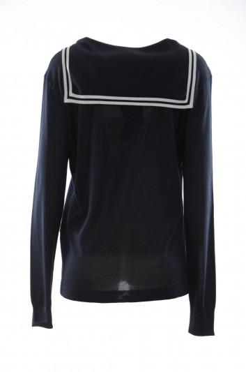 Dolce & Gabbana Women Silk Sailor Jumper - FQ206Z F73AI