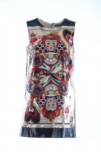 Dolce & Gabbana Women Silk Mini Dress - F68R8Z GD90R