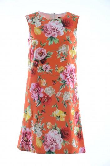 Dolce & Gabbana Women Short Silk Dress - F65E6T FSAUG