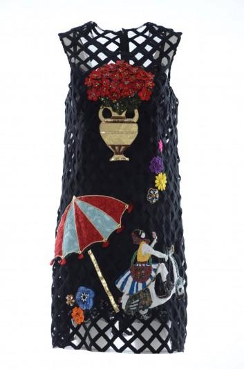 Dolce & Gabbana Vestido Corto Joya Mujer - F6TJ8Z HLMDG