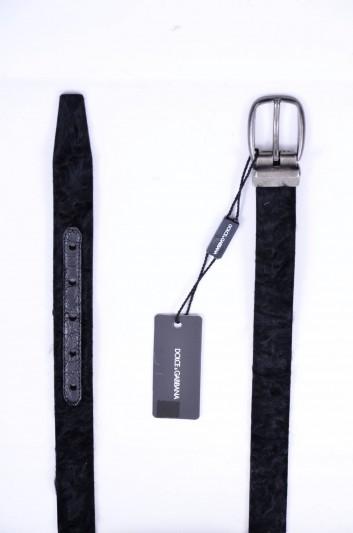 Dolce & Gabbana Cinturón Pelo Hombre - BC3953 A2F88