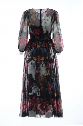 Dolce & Gabbana Women Long Dress - F66R2Z FH15M
