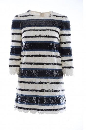 Dolce & Gabbana Women Sequined Short Dress - F7U34Z GD81I