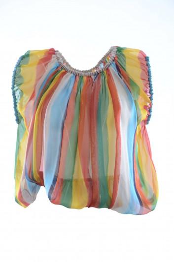 Dolce & Gabbana Women Silk Top - F72N2T HS1V1