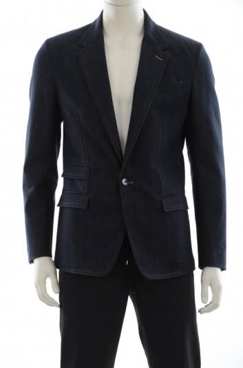 Dolce & Gabbana Men Denim Blazer - G2JY2D G8U38