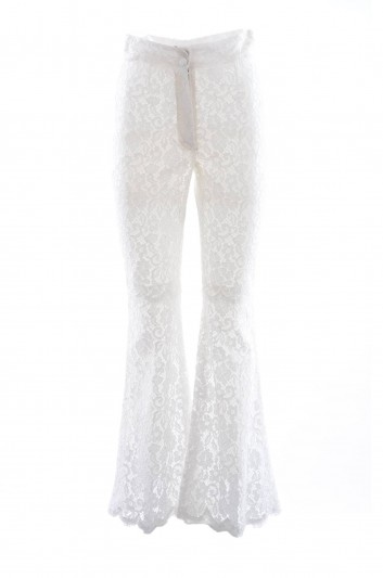 Dolce & Gabbana Pantalones Encaje Mujer - FTAXMT HLMCL