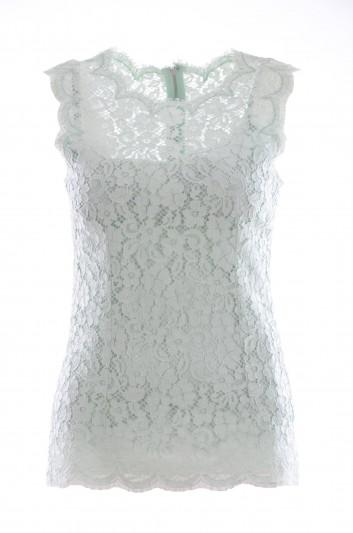 Dolce & Gabbana Women Guipur Top - F7X47T FLMY1