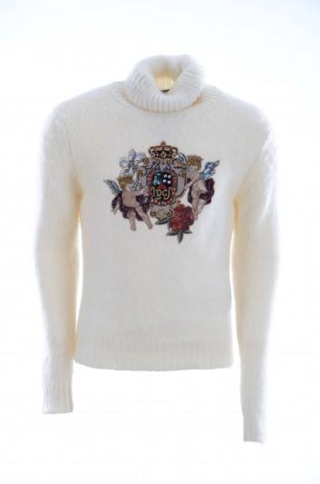 Dolce & Gabbana Jersey Cuello Alto Hombre - GX256Z JAMGR