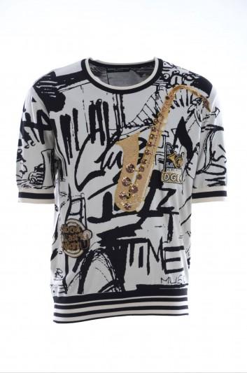 Dolce & Gabbana Men Silk Shirt - GQ104Z F73BY