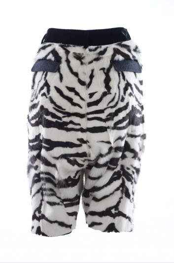Dolce & Gabbana Pantalón Corto Pelo Mujer - FTATXF FPPDB