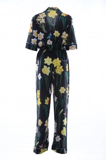 Dolce & Gabbana Women Silk Long Jumpsuit - F6A5ST HS1WJ