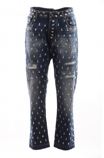 Dolce & Gabbana Women Denim Trousers - FTA0JZ G8952