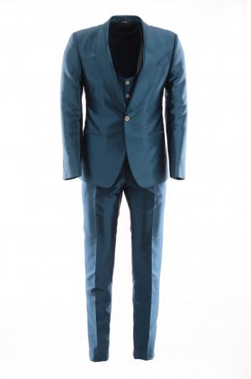 Dolce & Gabbana Men 1 Button Suit - G1XTMT FU1B8