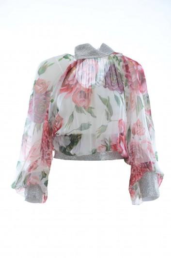 Dolce & Gabbana Women Silk Top - F72N4Z HS1VR