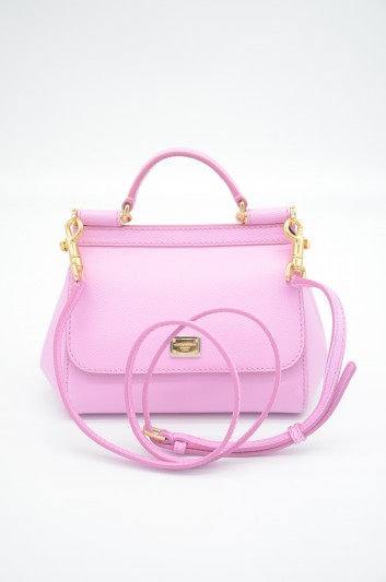 Dolce & Gabbana Women Small Leather Sicily Bag - BB6271 A1001