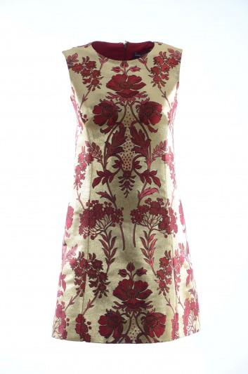 Dolce & Gabbana Vestido Corto Floral Mujer - F6D0DT HJMBO