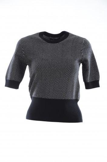 Dolce & Gabbana Women Cashmere Stripped Top - FX606T JAWTL