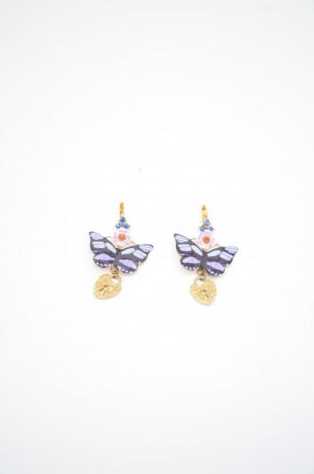 Dolce & Gabbana Women Butterfly Earrings - WEK2X3 W1111