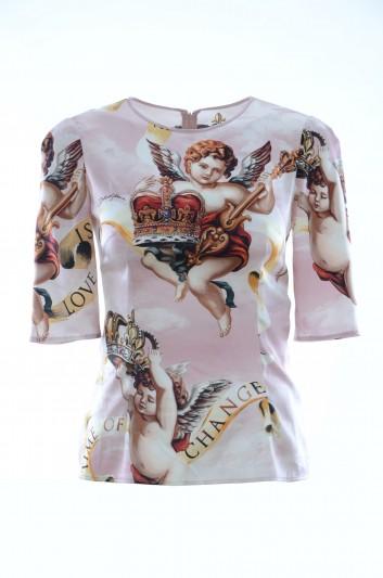 Dolce & Gabbana Women Angels Shirt - F7Y36T FSRJR