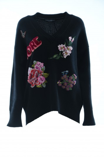 Dolce & Gabbana Women Cashmere Jumper - FX057Z JAWGD