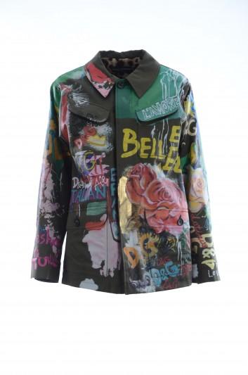 Dolce & Gabbana Women Graffiti Jacket - F28NKZ GDM44