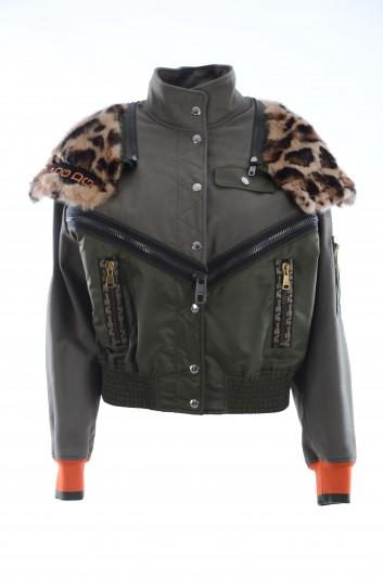 Dolce & Gabbana Chaqueta Leopardo Mujer - F9E48T HUMA6