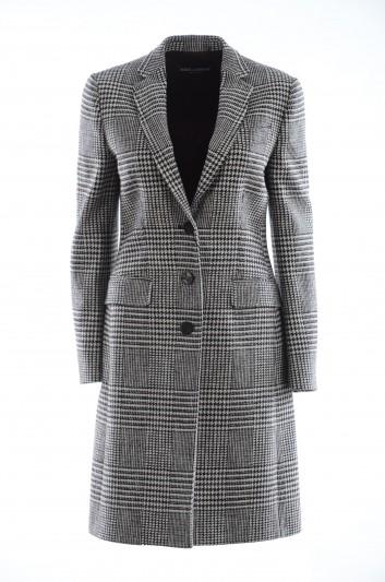 Dolce & Gabbana Women Vichy Coat - F0B64T FQMG0