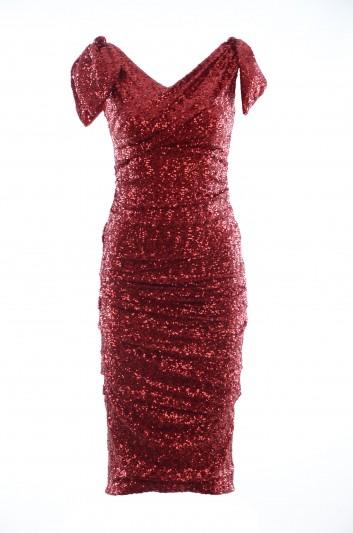 Dolce & Gabbana Women Midi Bow Dress - F6F9VT FLM7Q