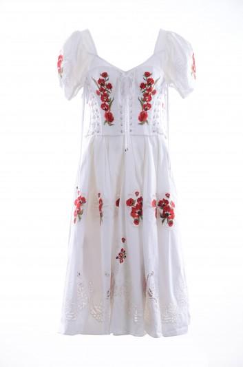Dolce & Gabbana Women Floral Midi Dress - F6D5UZ GD42V