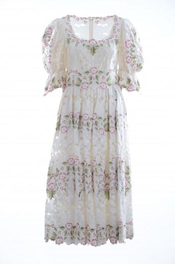 Dolce & Gabbana Women Long Floral Dress - F6D7HZ GD19V