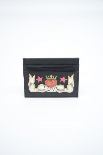 Dolce & Gabbana Women Leather Love Credit Card Holder - BI0330 AZ146