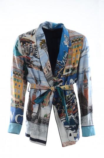 Dolce & Gabbana Men Silk Blazer - G003QT GEC50
