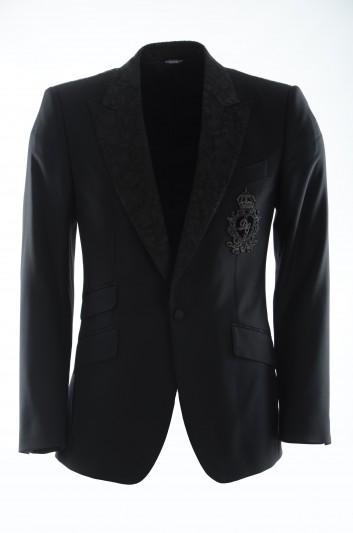 Dolce & Gabbana Men Logo Blazer - G2MD9Z FU2NF