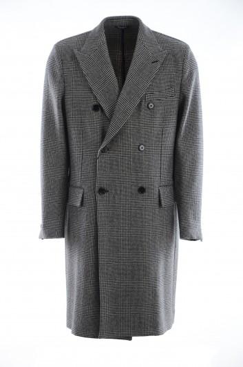 Dolce & Gabbana Men Vichy Long Coat - G009XT FQ2JY