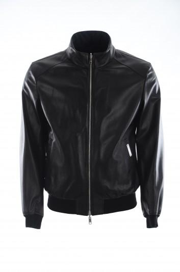 Dolce & Gabbana Men Leather Jacket - G9SH0L GEN65