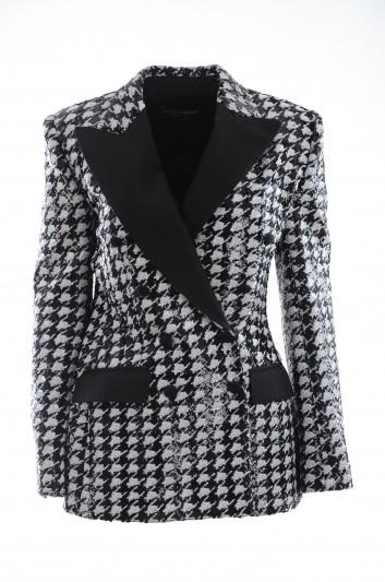 Dolce & Gabbana Women Sequins Blazer - F29DFT FLRDY