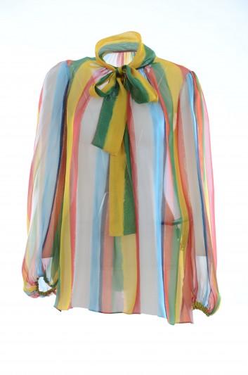 Dolce & Gabbana Women Silk Blouse - F72N3T HS1V1