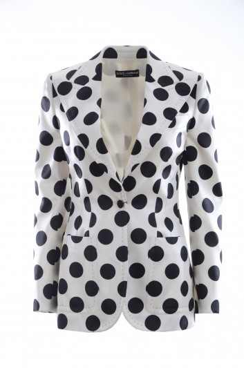 Dolce & Gabbana Women Blazer Polka Dot - F29BOT HS1ZO