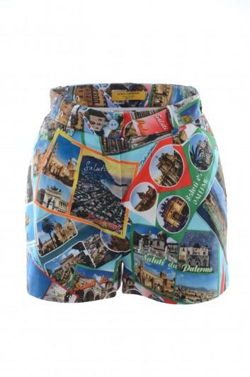 Dolce & Gabbana Women Palermo Shorts - I3877W FSFGA