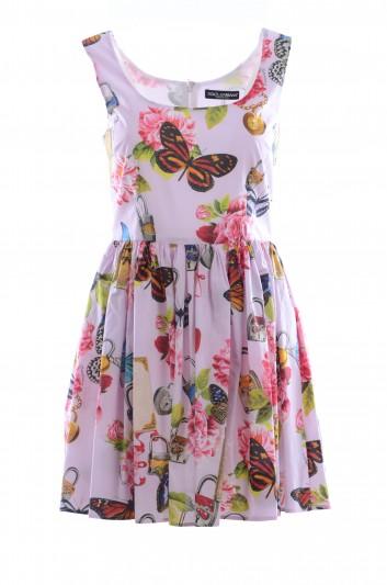 Dolce & Gabbana Women Butterflies Short Dress - F68B1T FS578