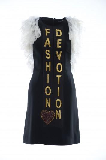 Dolce & Gabbana Women Fashion Devotion Short Dress - F6B3LZ FURDV