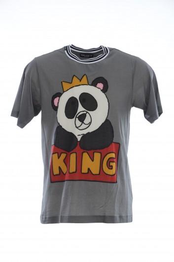 Dolce & Gabbana Men Panda King T-Shirt - G8HV4T HH7HU