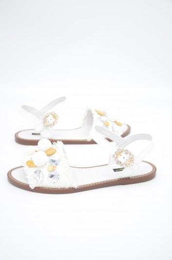 Dolce & Gabbana Women Jewel Ankle Sandals - CQ0238 AK225